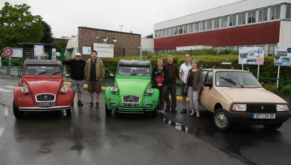 Rencontre internationale 2cv 2018