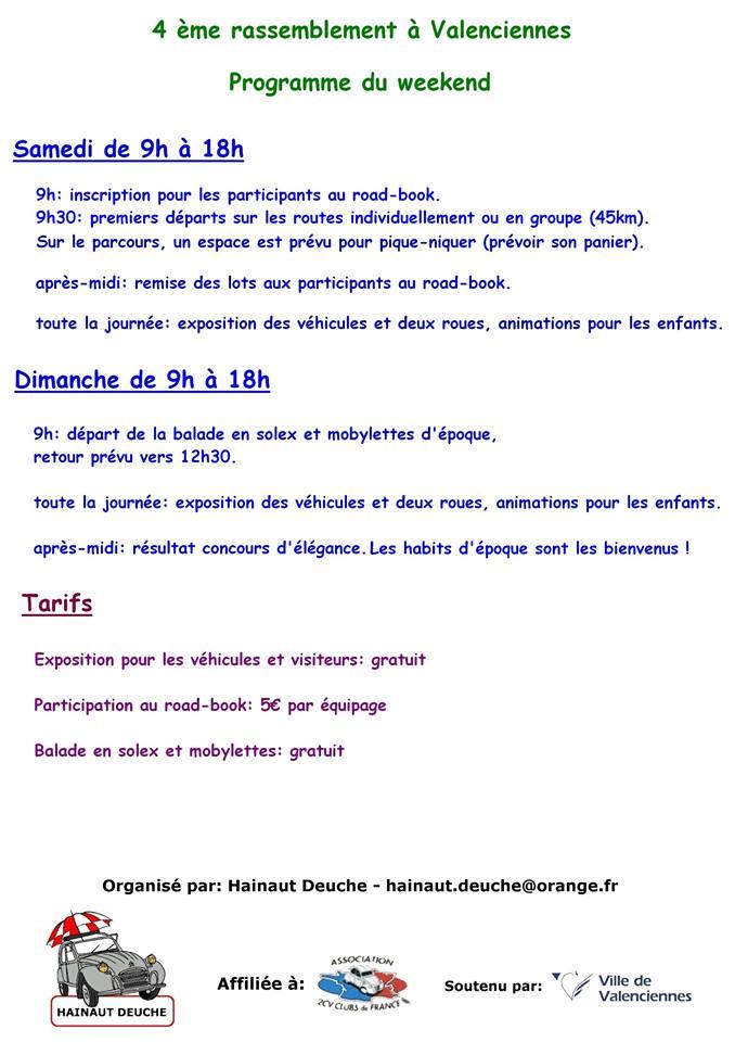 Valenciennes programme